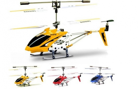 S107G 3CH Remote Control Helicopter Alloy Copter with Gyroscope