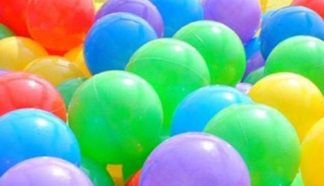 100Pcs 7cm Colorful Ball Fun Ball Soft Plastic Ocean Ball Baby Kid Toy Swim Toy