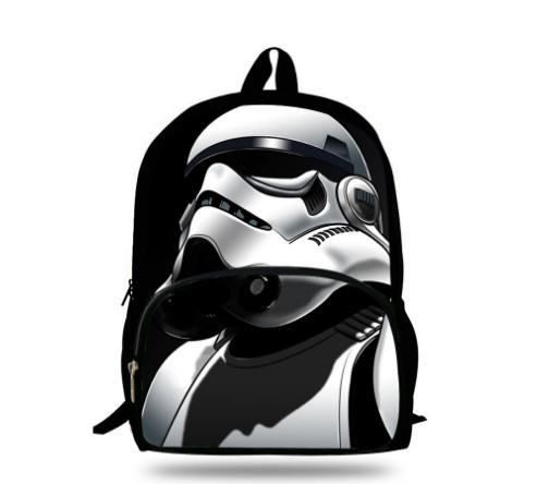 121e40922d 16-Inch Popular School Bag Cartoon Backpacks Child Star Wars Backpack For Kids  Boys Star Wars Bag For Girls Teenagers Bags
