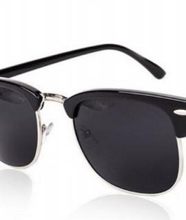 Half Metal Sunglasses Men Women Brand Designer Inspired Club Elegant Star Master Mirror Sun Glasses